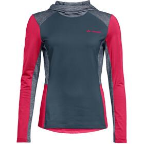 VAUDE Qimsa T-shirt z długim rękawem Kobiety, steelblue